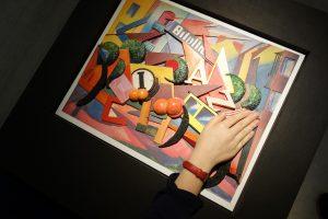 Taktile Umsetzung eines Gemäldes