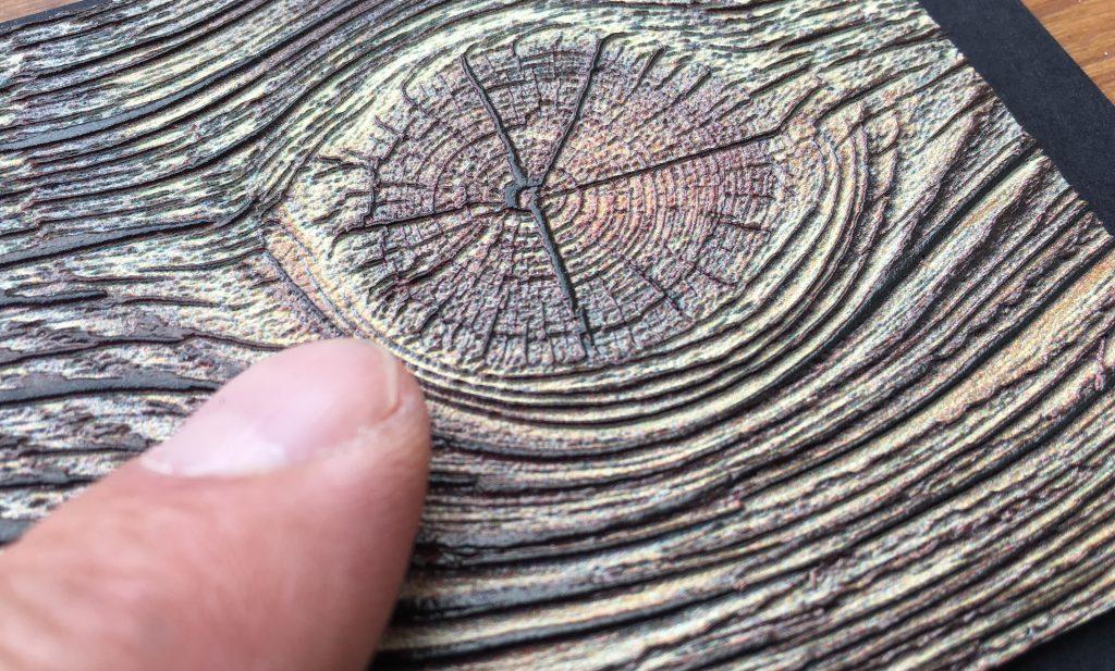 Simulation einer Holzstruktur