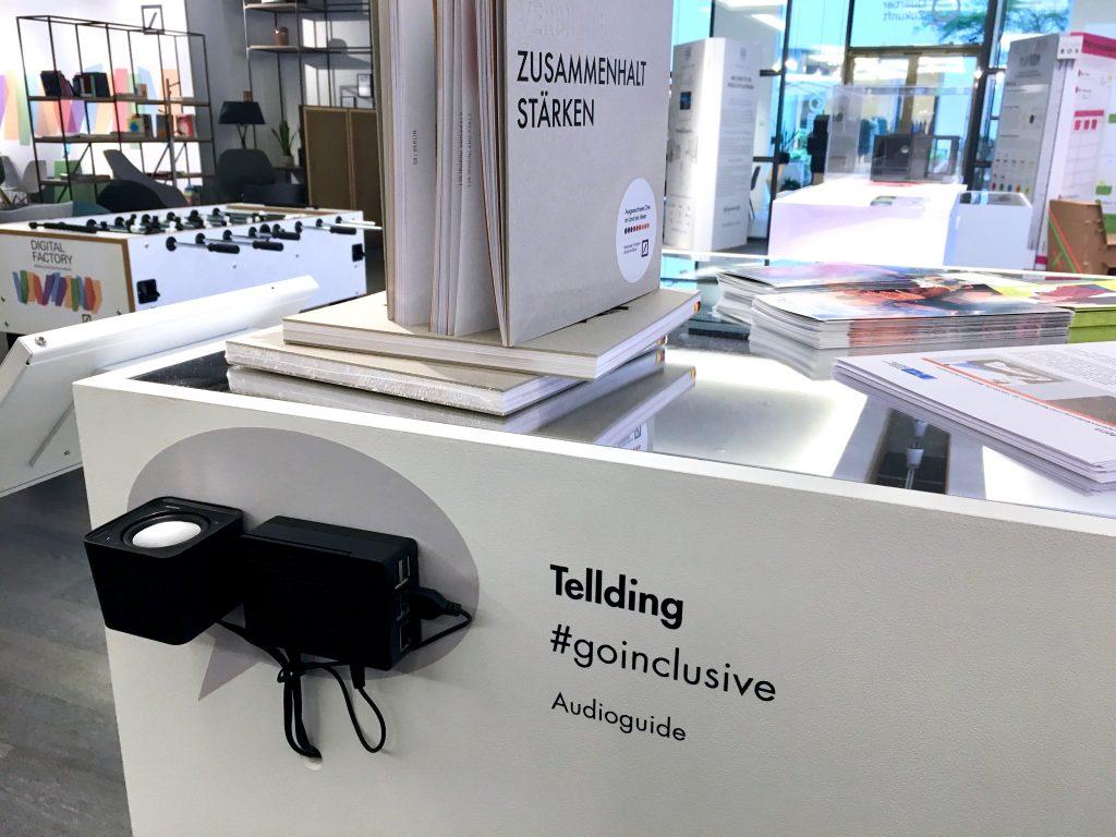 """TellDing ist ein """"instant Audioguide"""" und Orientierungssystem in einem."""