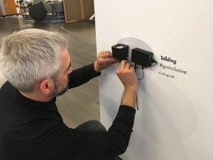 TellDing ist ein preiswertes Audio-Informations- und Orientierungsystem