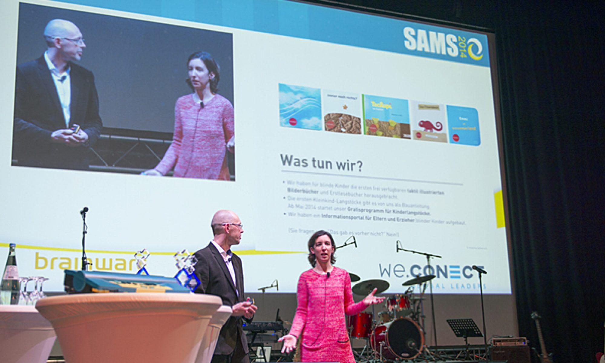 Vortragssituation beim SAMS Award