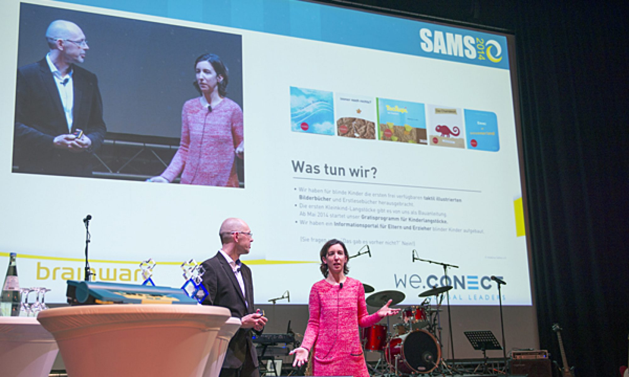 Vortragssituation beim SAMS Award